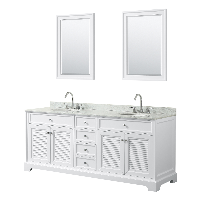 Tamara 80 Double Bathroom Vanity