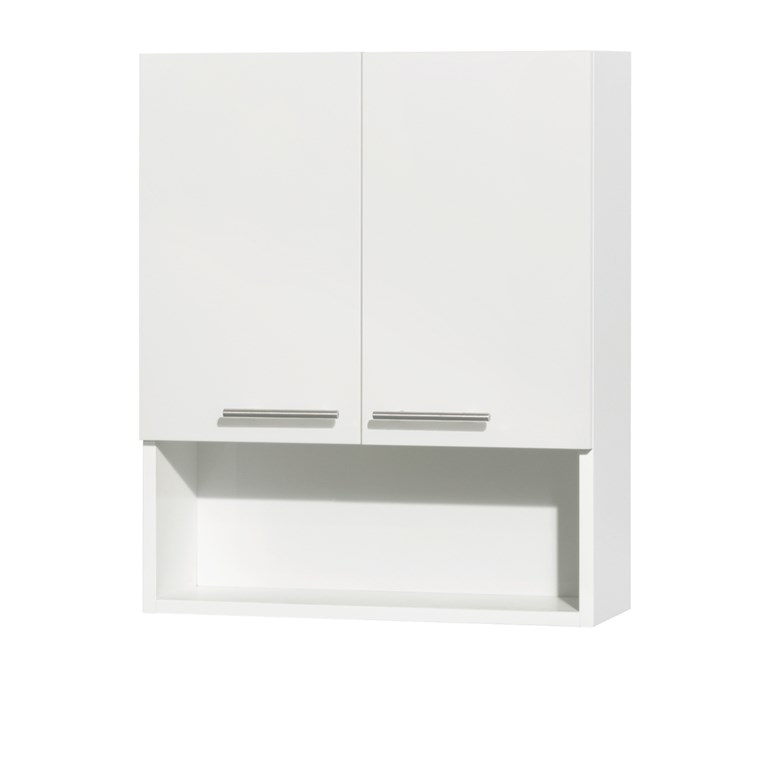 Amare Bathroom Wall Cabinet - Glossy White WC-RYV207-WC-WHT
