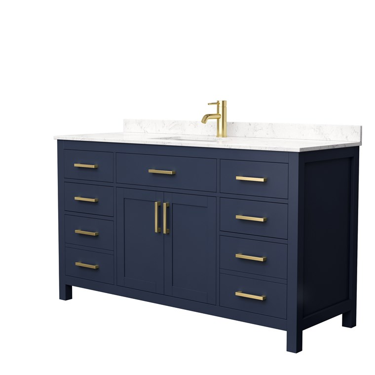 "Beckett 60"" Single Bathroom Vanity - Dark Gray WC-2424-60-SGL-VAN-DKG"