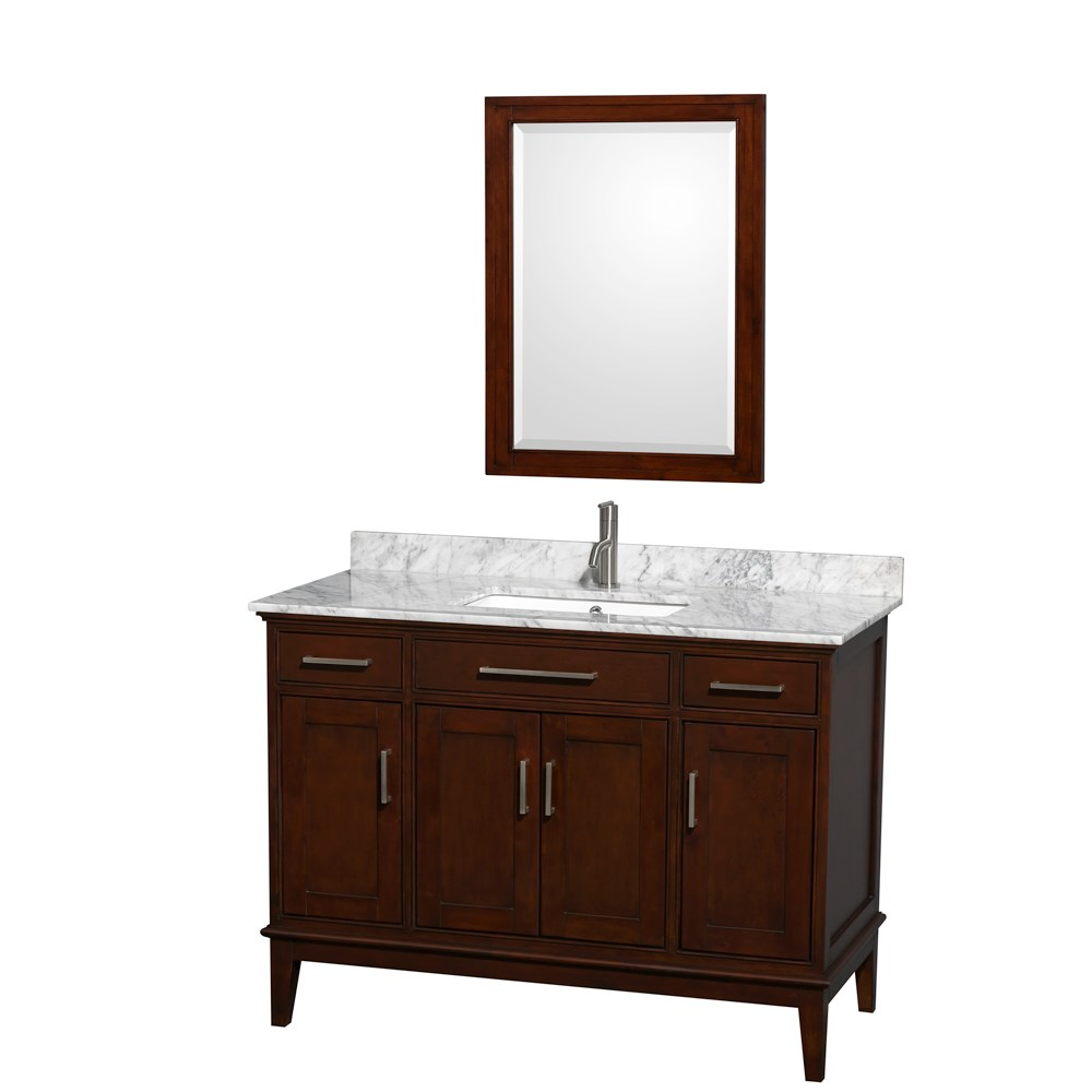 "Hatton 48"" Single Bathroom Vanity - Dark Chestnut WC-1616-48-SGL-VAN-CDK"