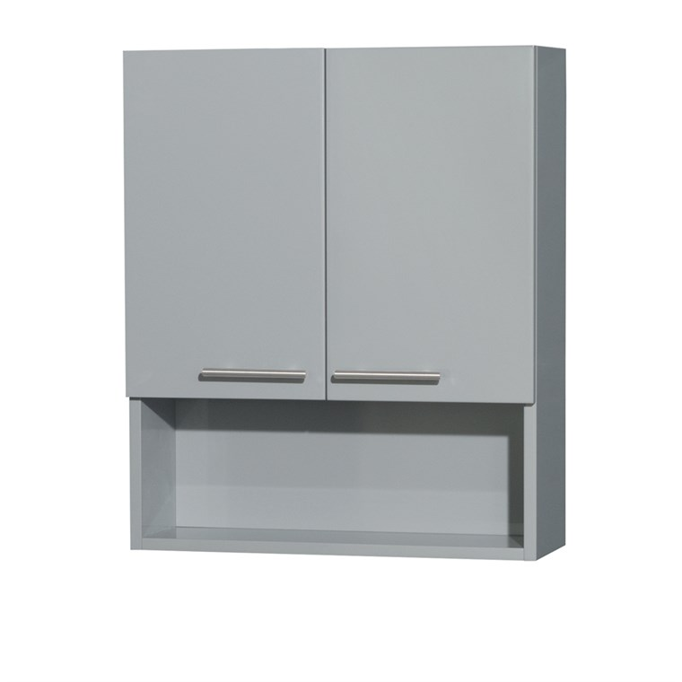 Amare Bathroom Wall Cabinet - Dove Gray WC-RYV207-WC-DVG