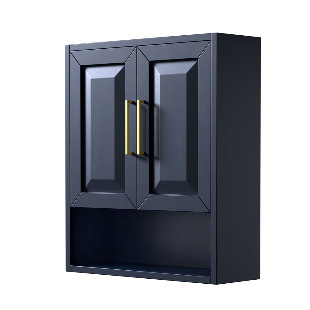 Daria Over-Toilet Wall Cabinet - Dark Blue WC-2525-WC-BLU