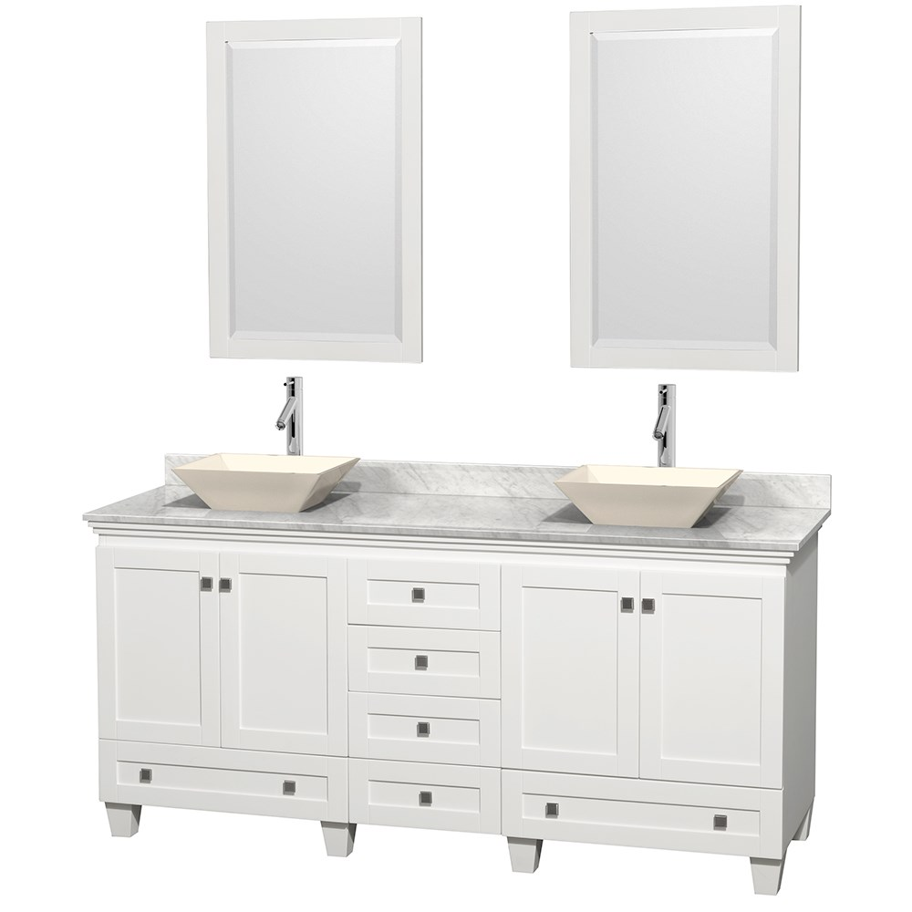 Acclaim 72 Double Bathroom Vanity For