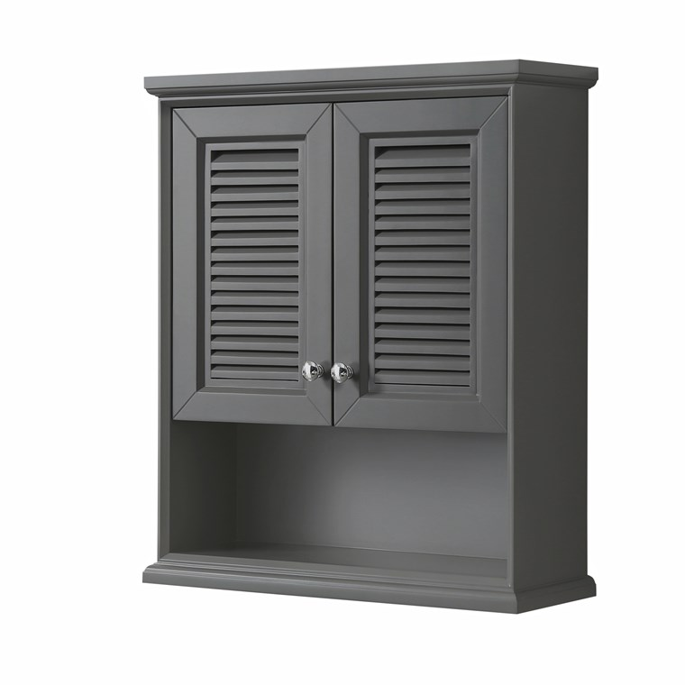 Tamara Over-Toilet Wall Cabinet - Dark Gray WC-2121-WC-DKG