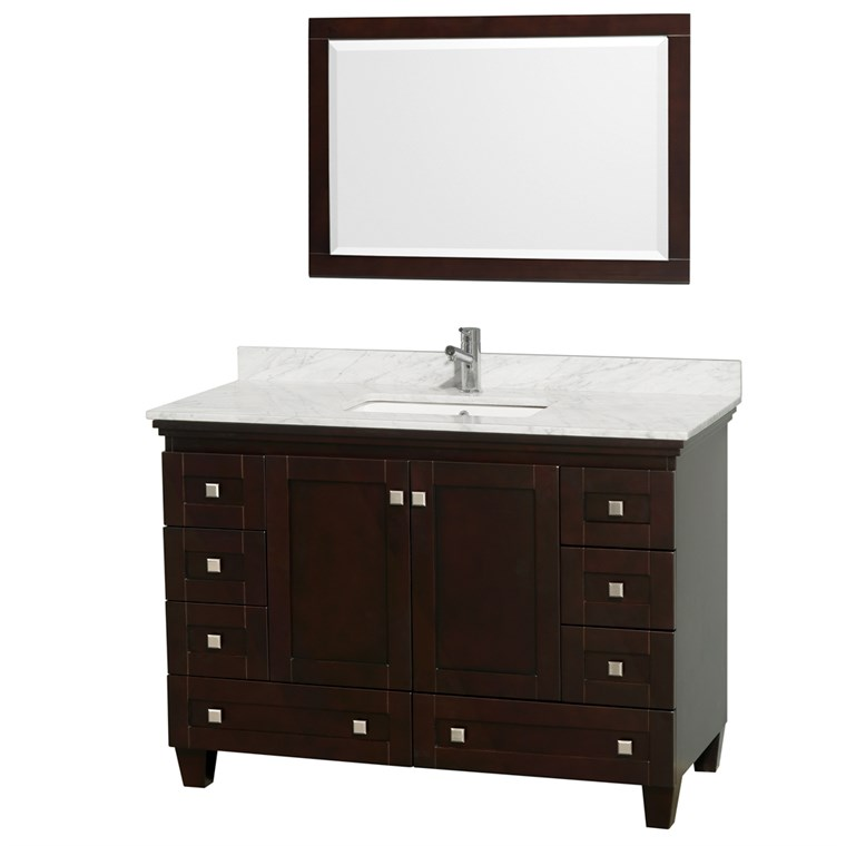 Acclaim 48 in. Single Bathroom Vanity - Espresso WC-CG8000-48-SGL-VAN-ESP-