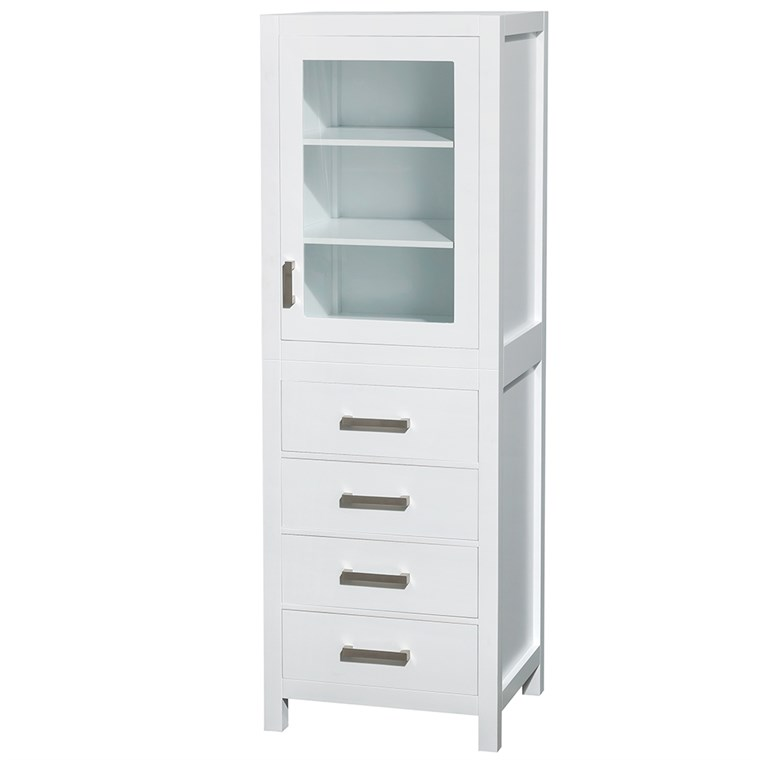 Sheffield Linen Tower - White WC-1414-LT-WHT