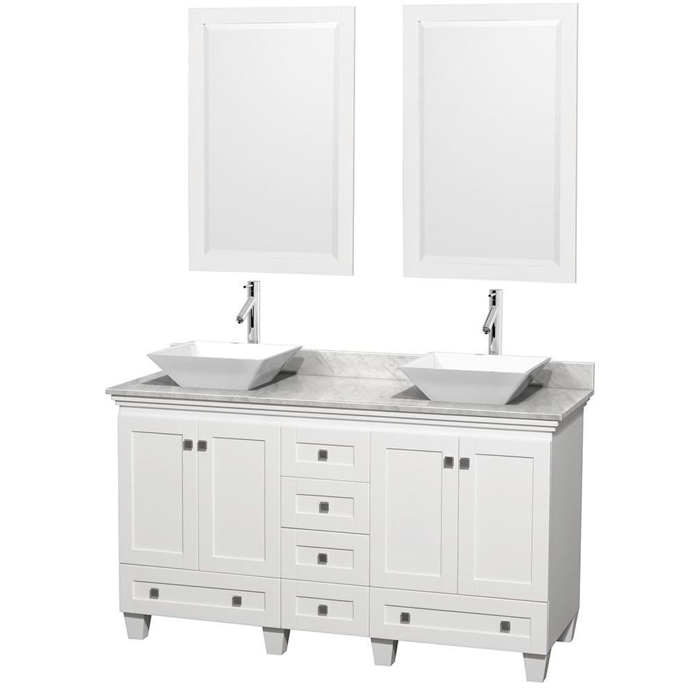 Acclaim 60 Double Bathroom Vanity For
