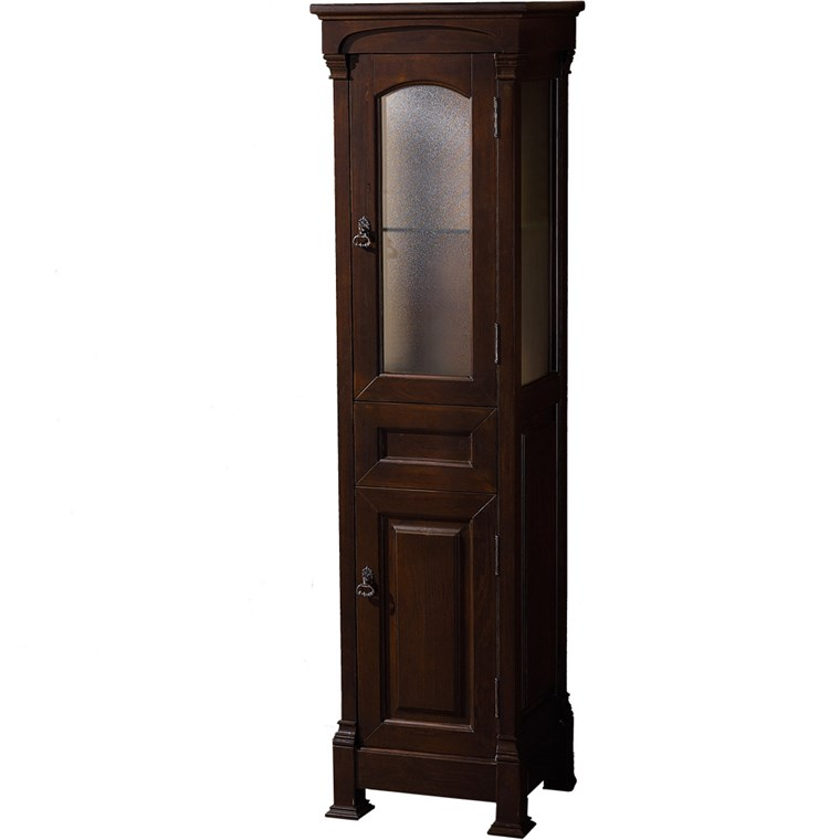 Andover Traditional Bathroom Cabinet - Dark Cherry WC-TFS065-DCH