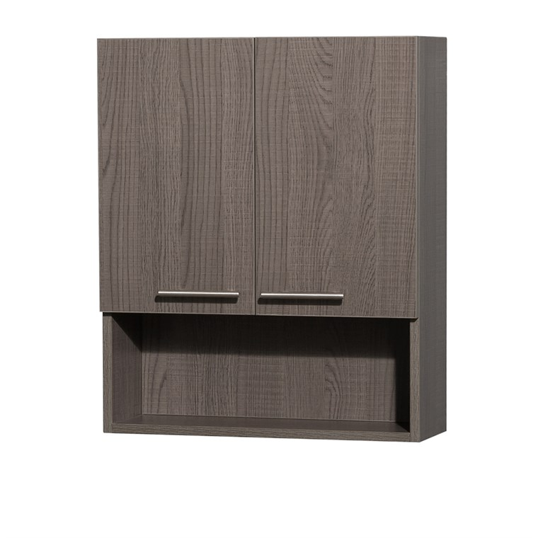 Amare Over-Toilet Wall Cabinet - Gray Oak WC-RYV207-WC-GRO