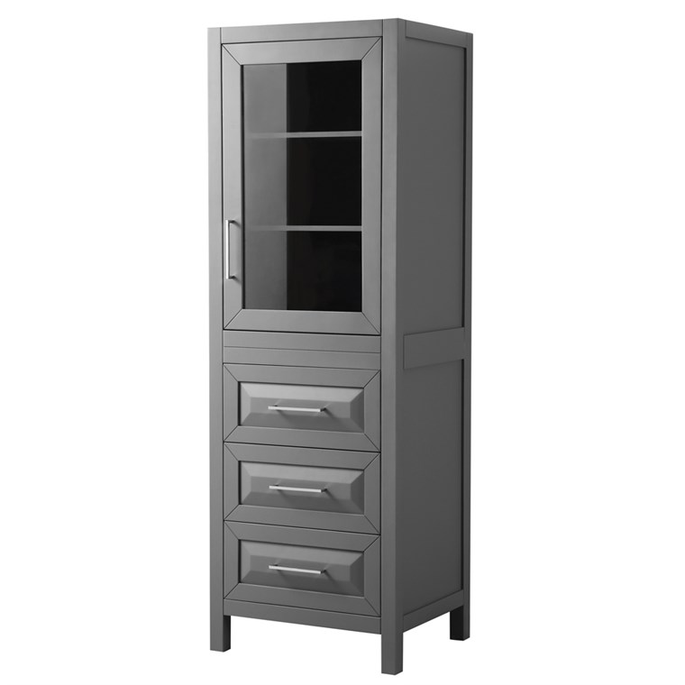 Daria Linen Tower - Dark Gray WC-2525-LT-DKG