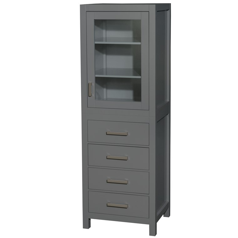 Sheffield Linen Tower - Dark Gray WC-1414-LT-DKG