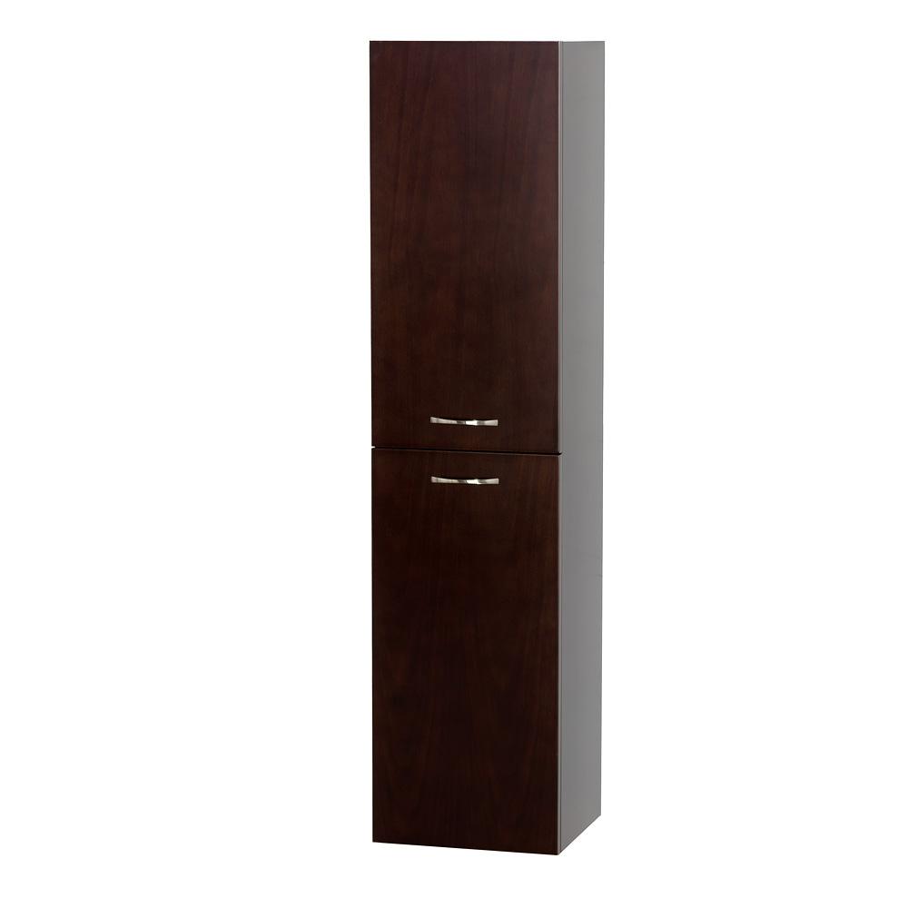 Accara Bathroom Wall Cabinet Espresso