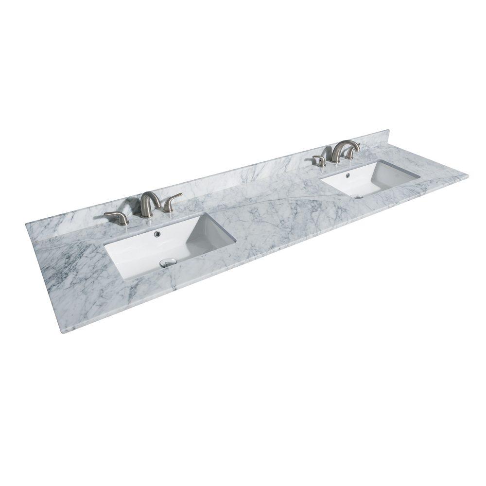 Deborah 80 Double Bathroom Vanity In White Beautiful Bathroom Furniture For Every Home Wyndham Collection