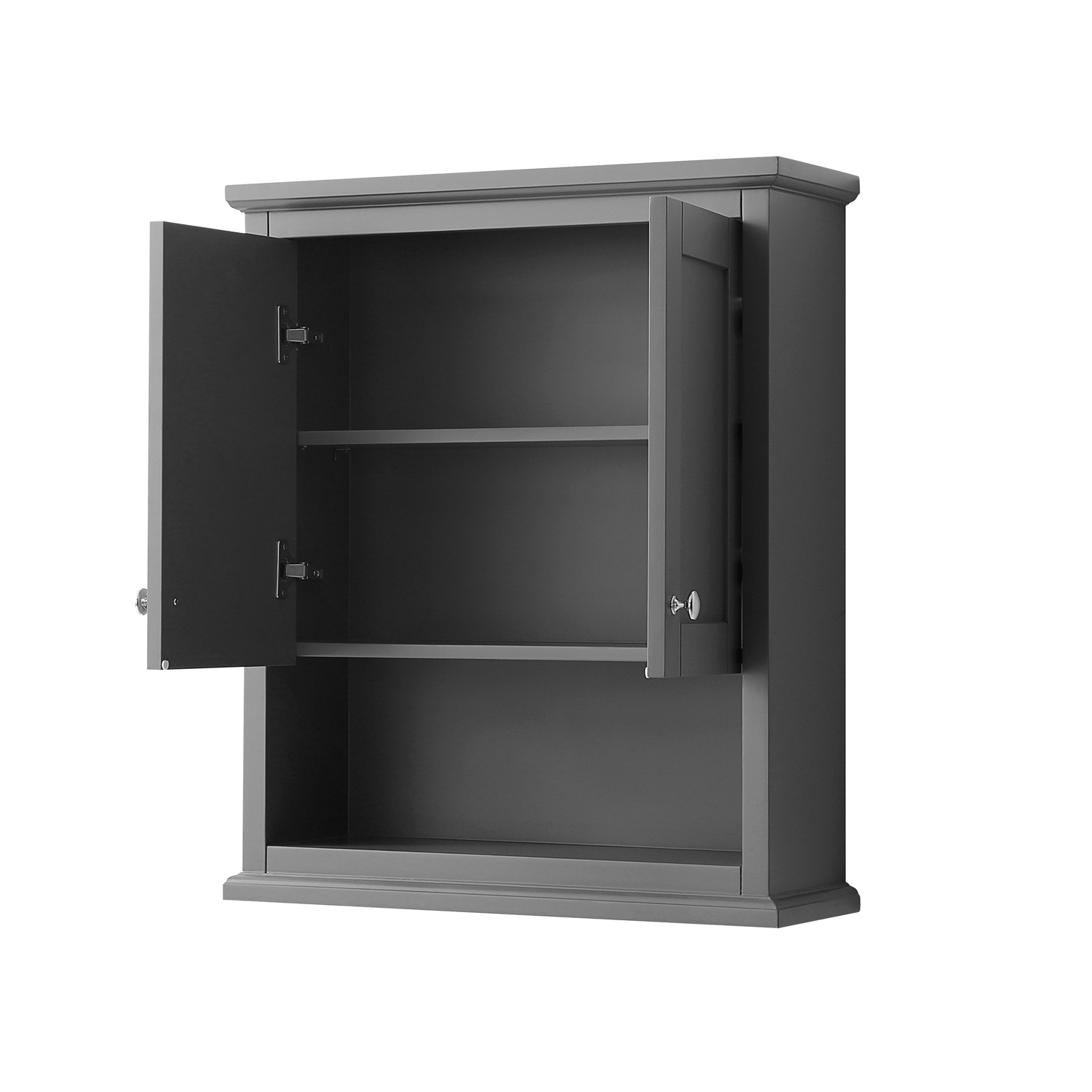Avery Over Toilet Wall Cabinet Dark Gray Free Shipping