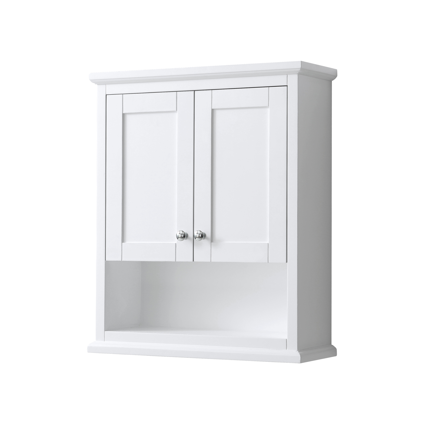 avery over-toilet wall cabinet - white | free shipping