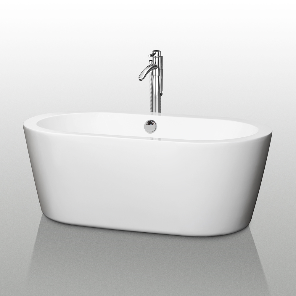 Mermaid 60 Soaking Bathtub Beautiful Bathroom Furniture For Every Home Wyndham Collection