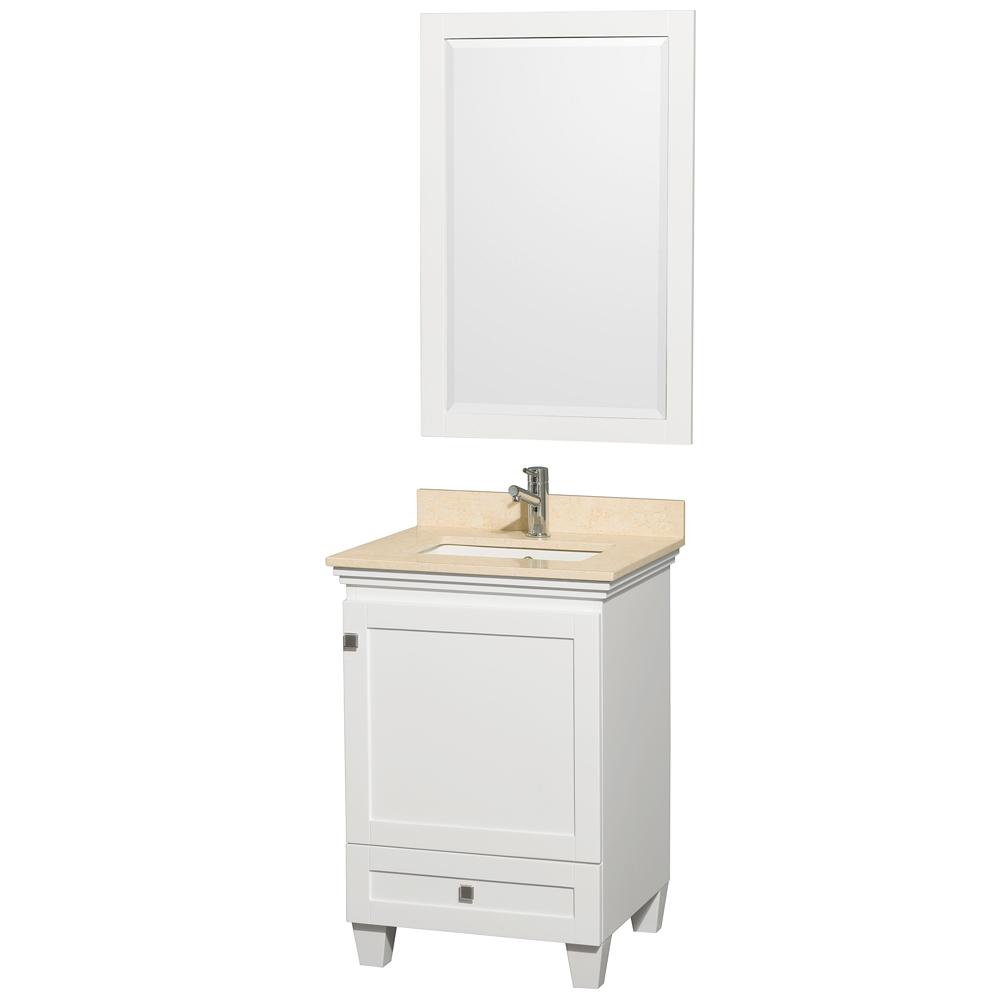 Acclaim 24 In Single Bathroom Vanity White Free Shipping
