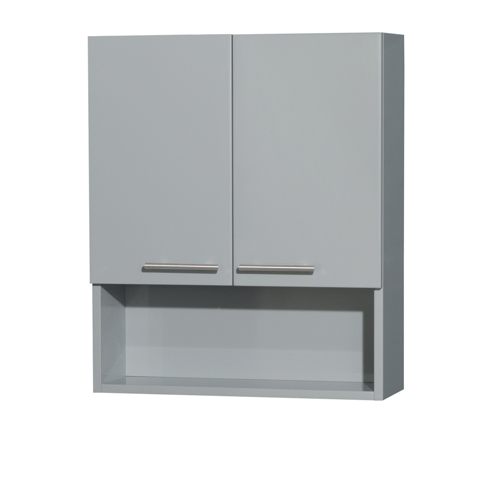 Amare Bathroom Wall Cabinet Dove Gray