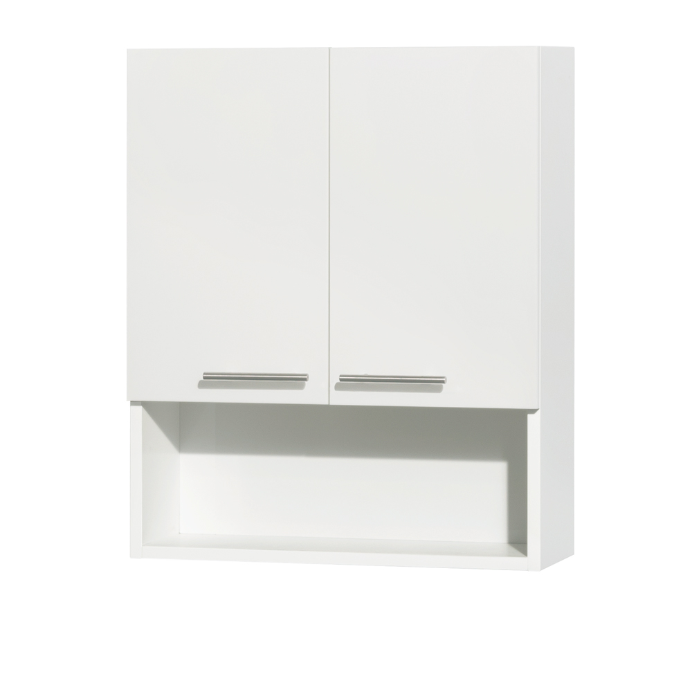 Amare Bathroom Wall Cabinet Glossy White Free Shipping