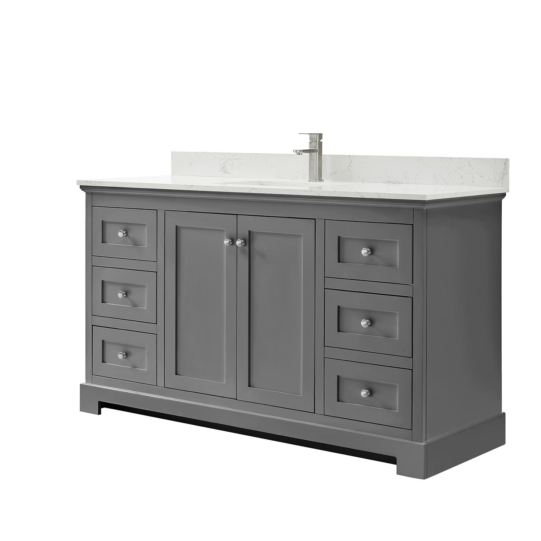 Ryla 60 Single Bathroom Vanity Dark