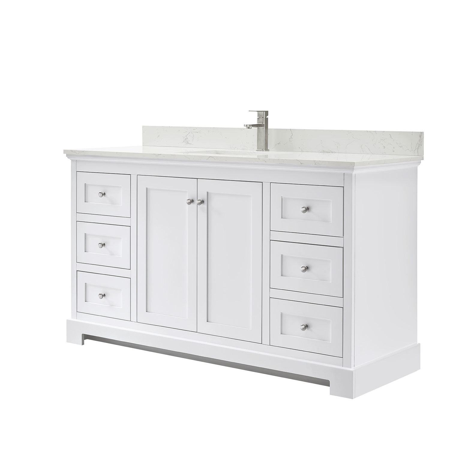 Ryla 60 Single Bathroom Vanity White Beautiful Bathroom Furniture For Every Home Wyndham Collection