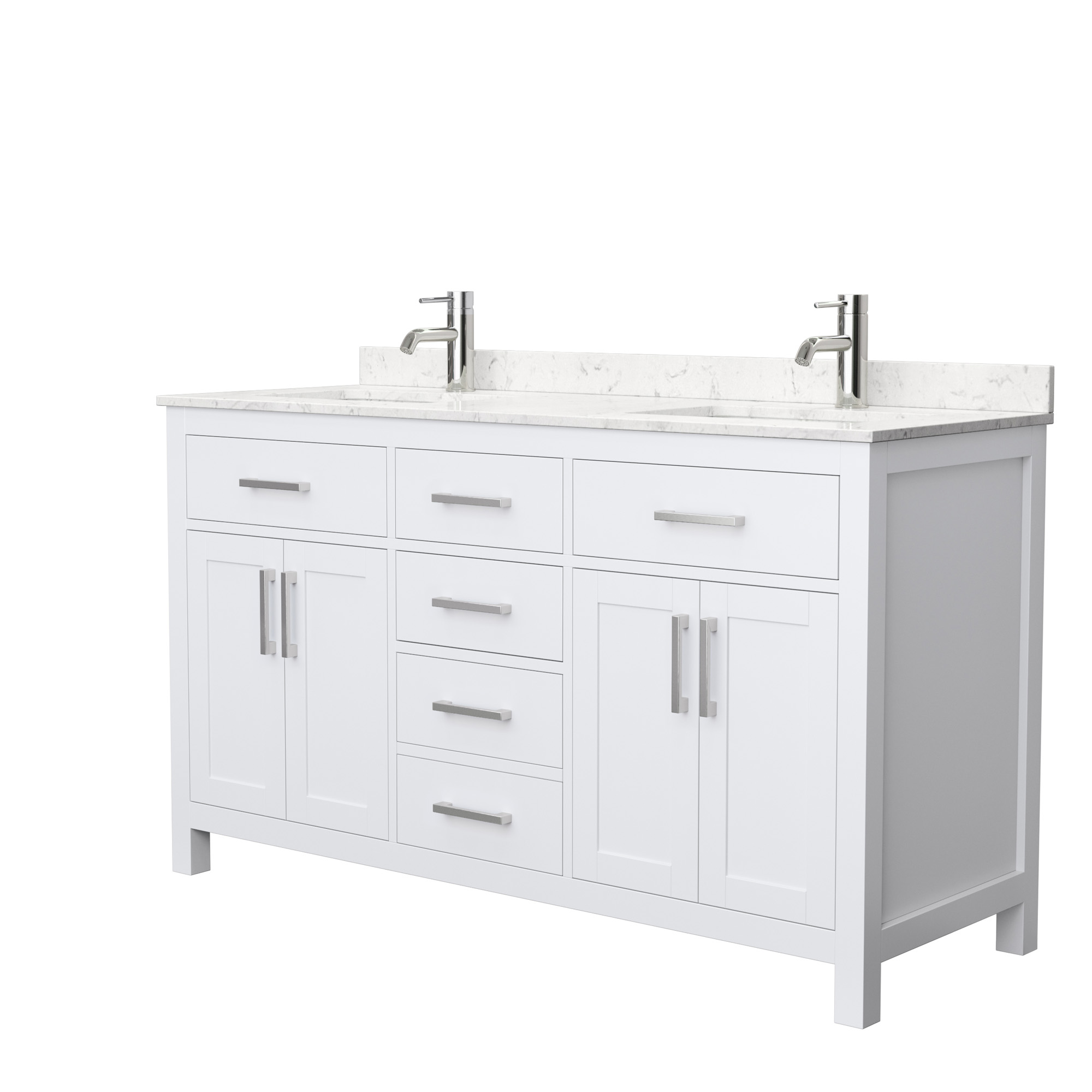Beckett 60 Double Bathroom Vanity White Beautiful Bathroom Furniture For Every Home Wyndham Collection