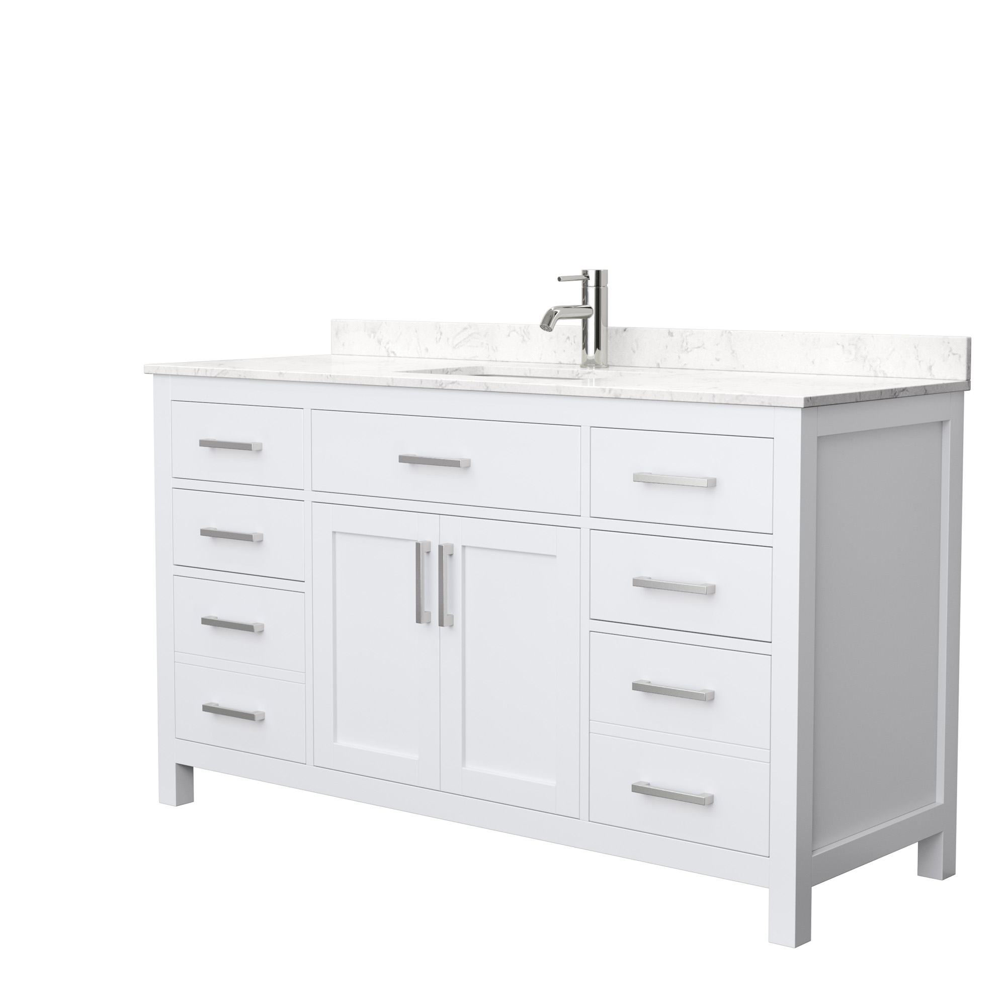 Beckett 60 Single Bathroom Vanity White Beautiful Bathroom Furniture For Every Home Wyndham Collection