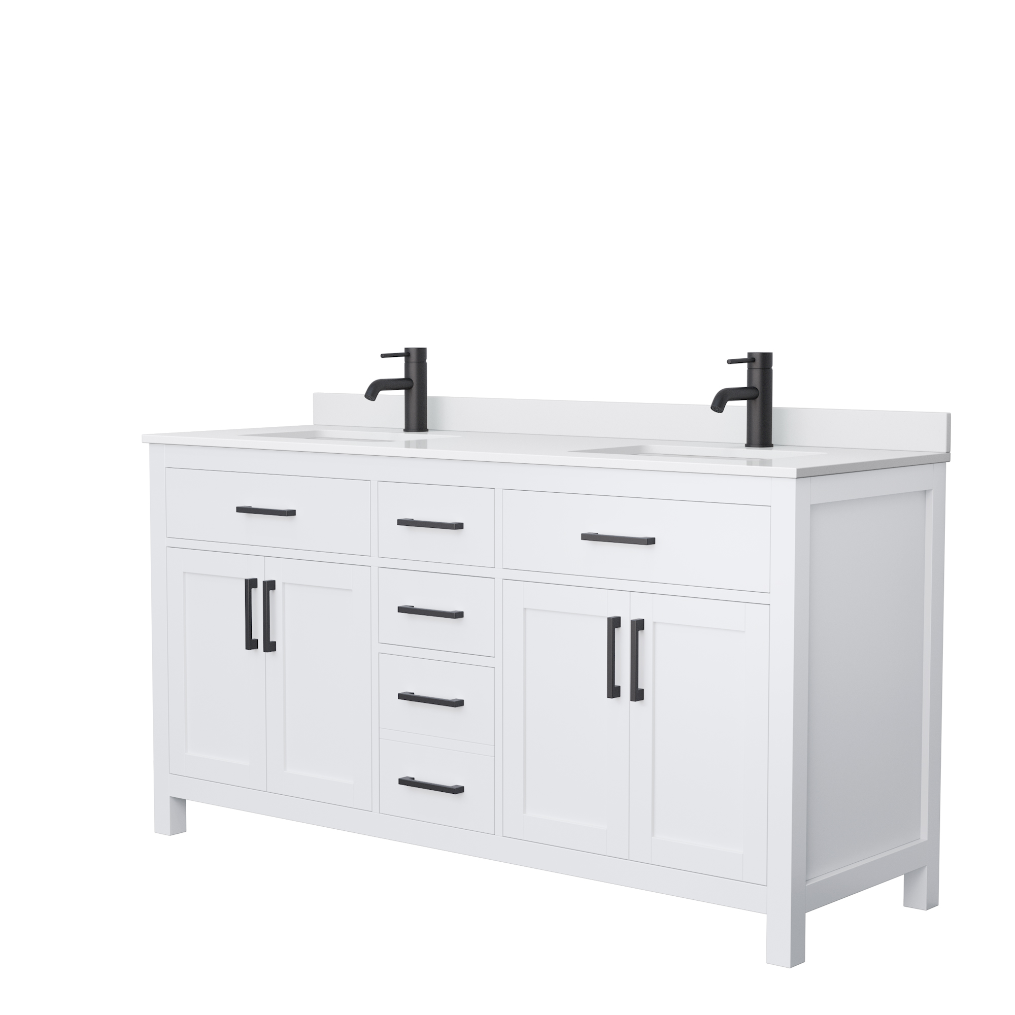 Beckett 66 Double Bathroom Vanity White Beautiful Bathroom Furniture For Every Home Wyndham Collection