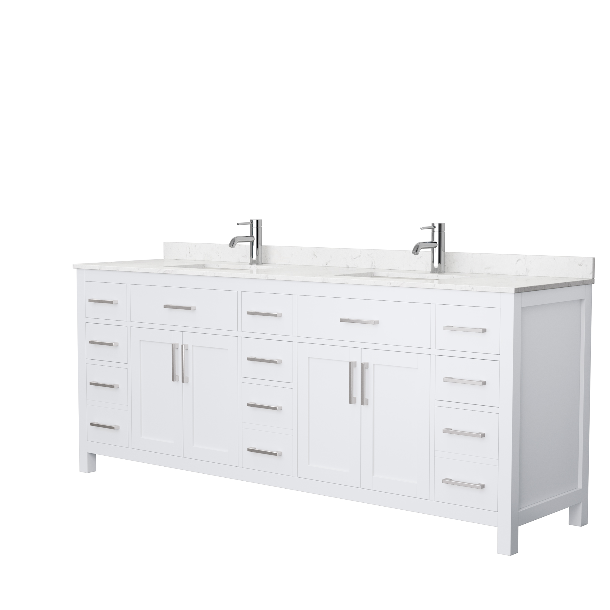 Beckett 84 Double Bathroom Vanity White Beautiful Bathroom Furniture For Every Home Wyndham Collection