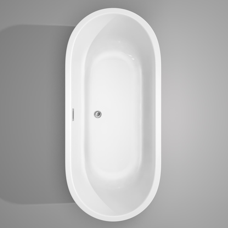 Juliette 60 x 31.25 Freestanding Soaking Bathtub