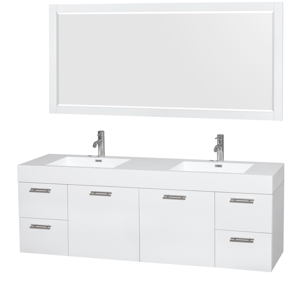 72 Inch Double Sink Bathroom Vanity Top Only Image Of Bathroom And Closet