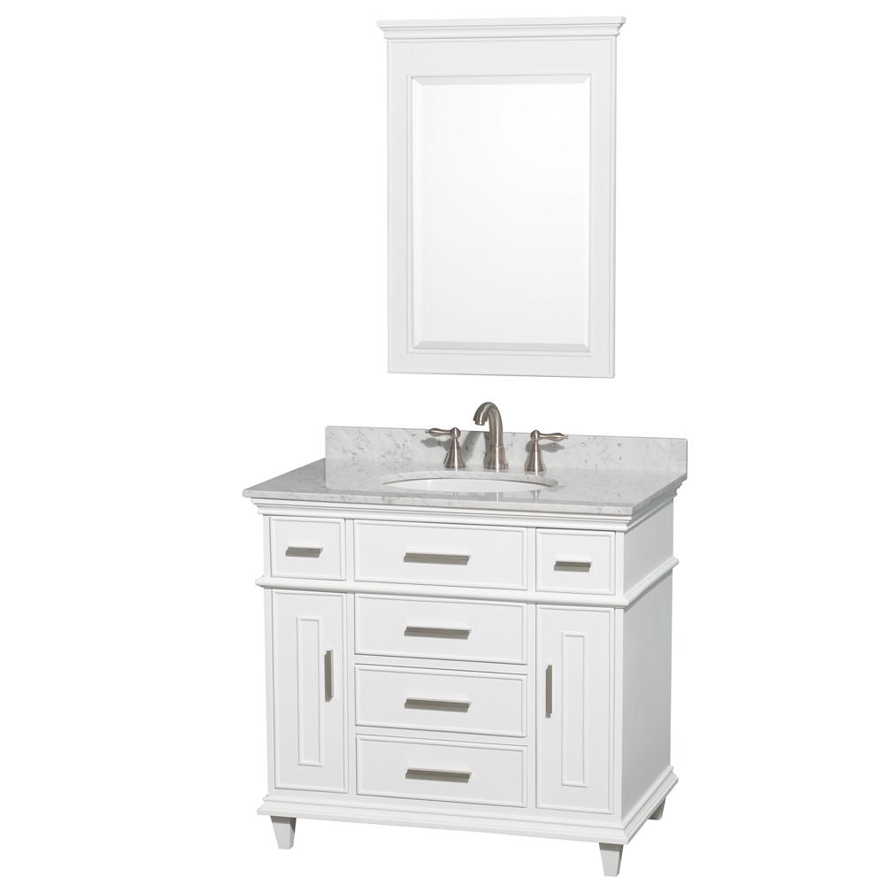 Berkeley 36 Single Bathroom Vanity White Beautiful Bathroom Furniture For Every Home Wyndham Collection