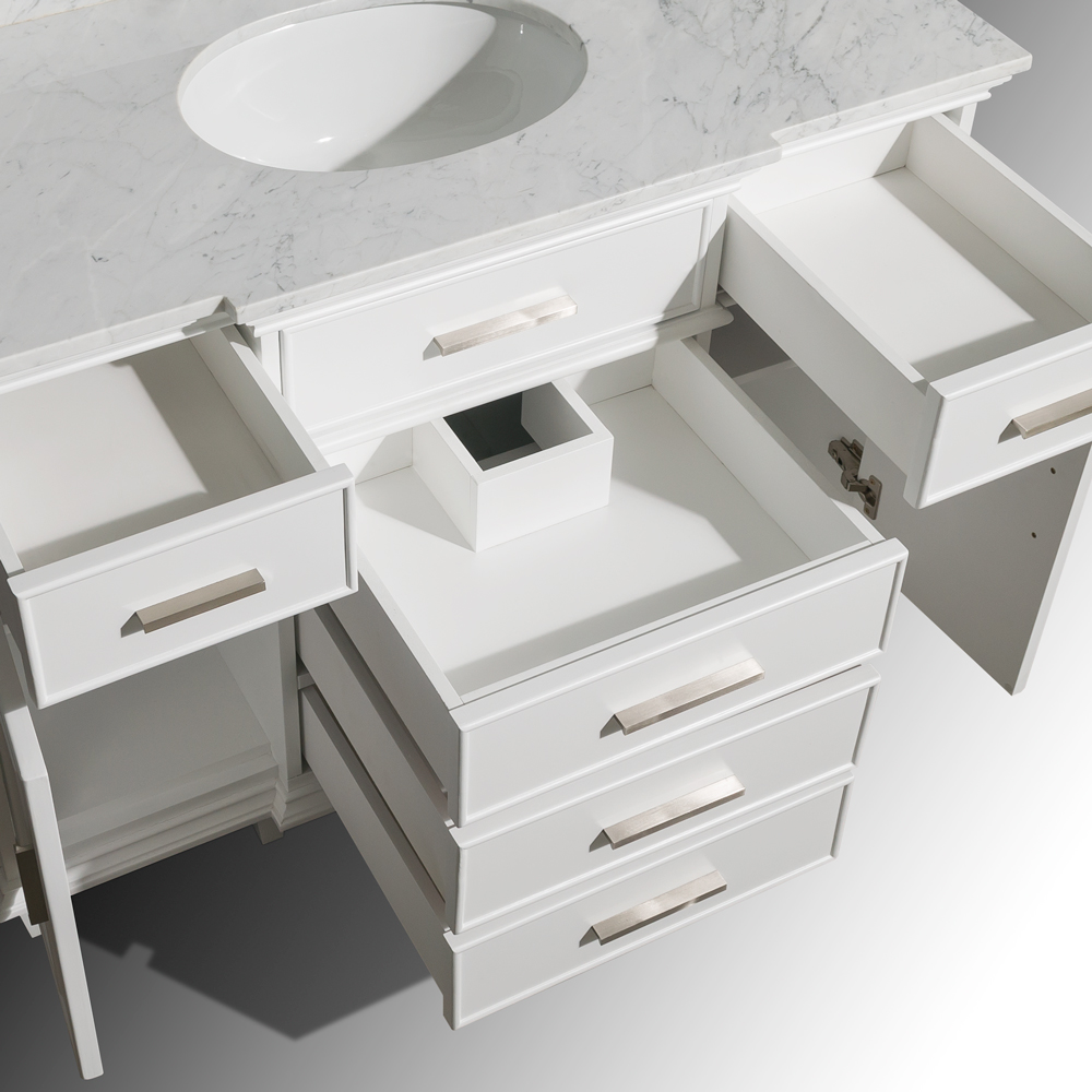 Berkeley 48 Single Bathroom Vanity White Beautiful Bathroom Furniture For Every Home Wyndham Collection