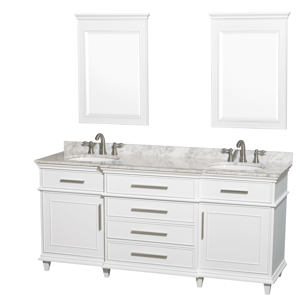 Berkeley 72 Double Bathroom Vanity White Beautiful Bathroom Furniture For Every Home Wyndham Collection