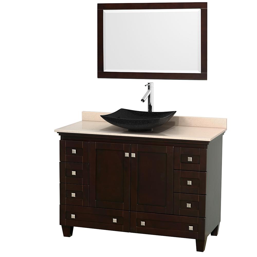 Acclaim 48 Single Bathroom Vanity For, Vessel Sink Bathroom Vanity