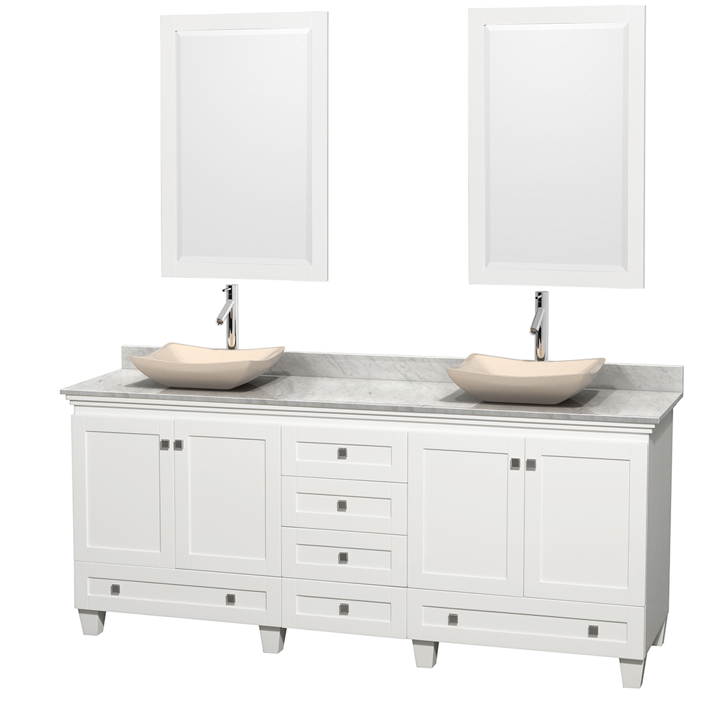 Acclaim 80 Double Bathroom Vanity For