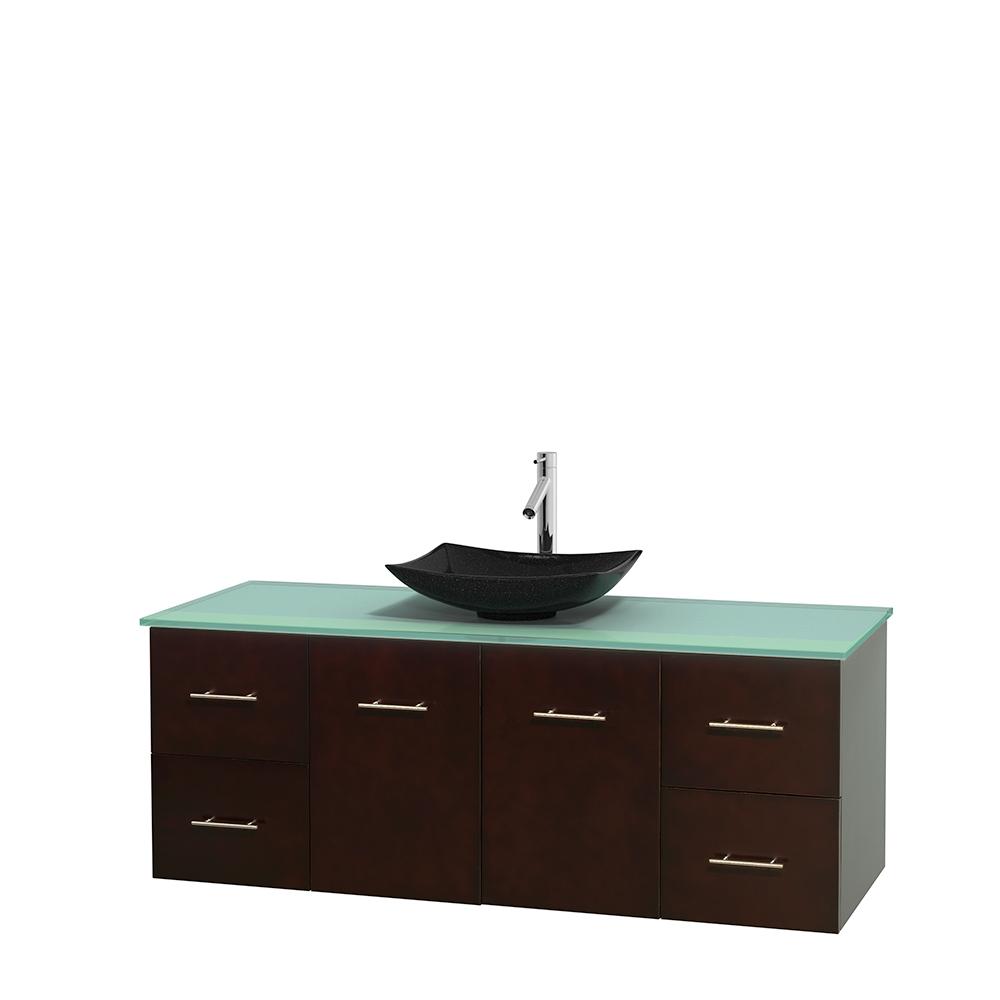 Single Bathroom Vanity For Vessel Sink